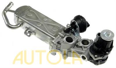EGR ventil Seat Alhambra, Altea, Leon 1.6TDI, 2.0TDI 2004- /s chladičem výfukových plynů/