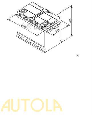 Autobaterie Bosch Silver S4 95Ah