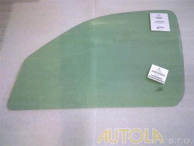 Sklo levé stahovací zelené Nissan Kubistar 2003-2009